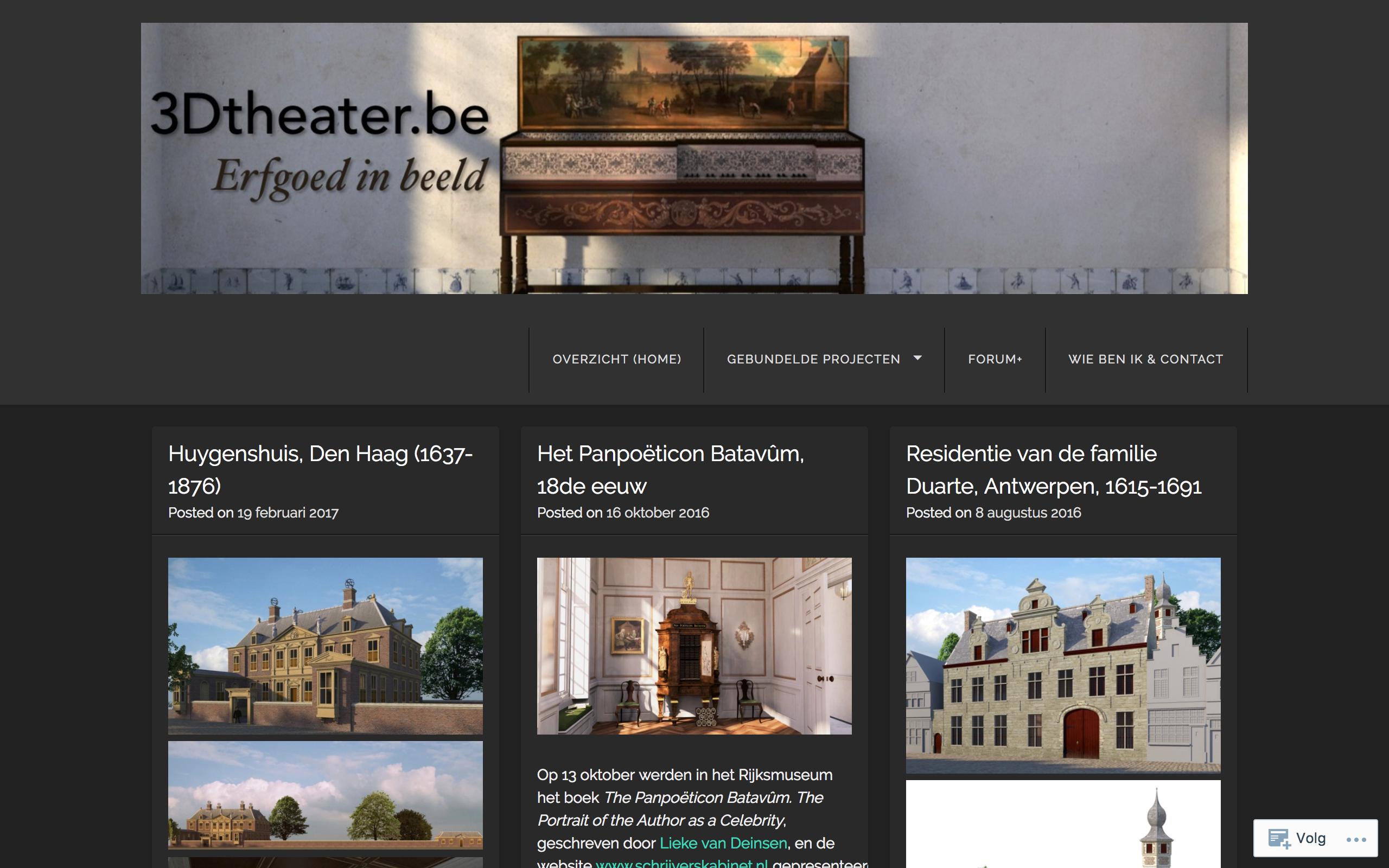 3Dtheater: Erfgoed in Beeld