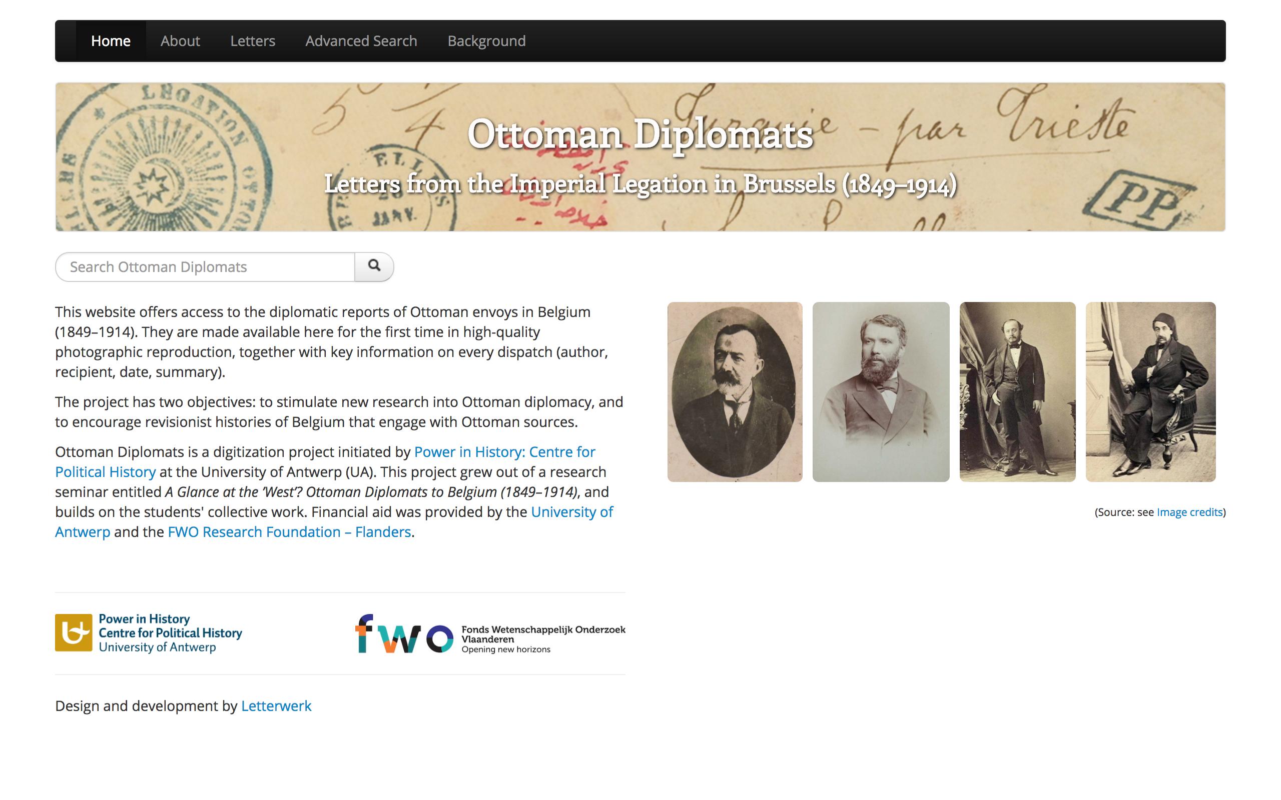 Ottoman Diplomats