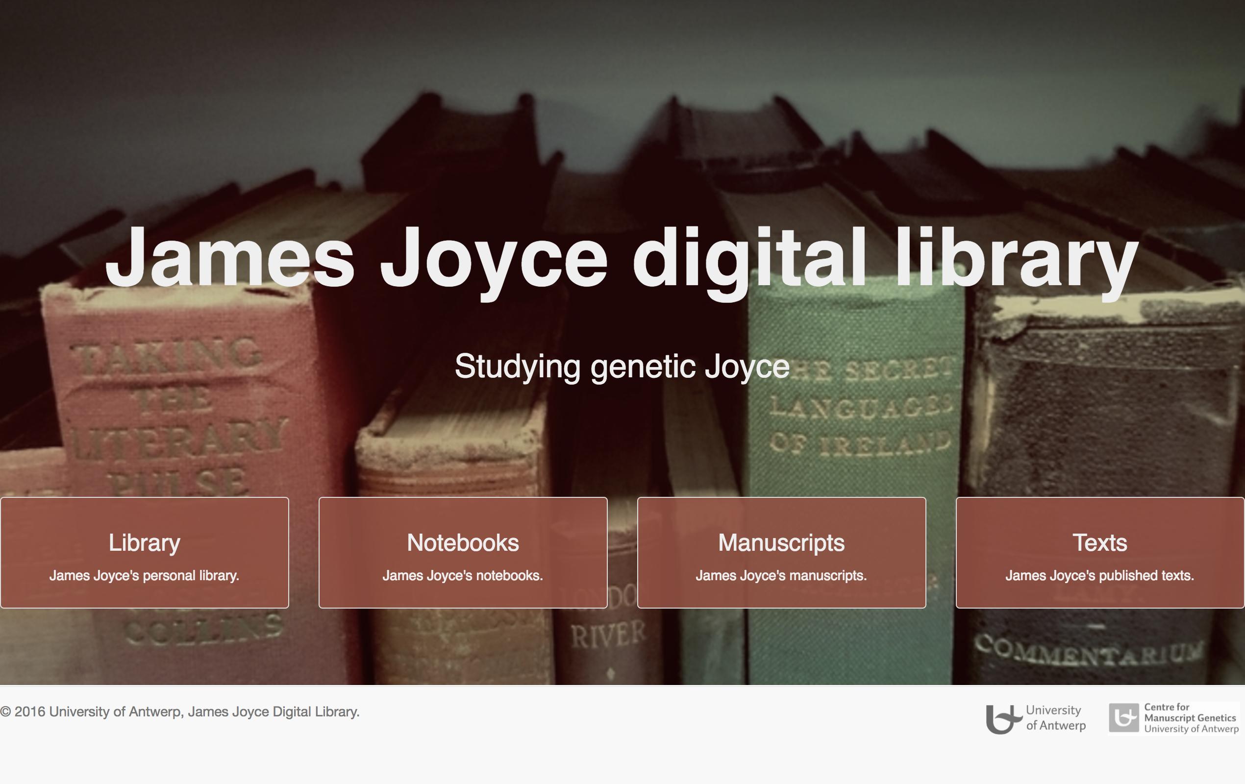 James Joyce Digital Library